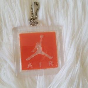 Air Jordan Orange Tag Key Chain